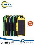 屋外の夏の使用法のための李イオンポリマー電池の太陽充電器10000mAh