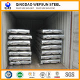 Fabricante China de cartón ondulado de la placa de acero galvanizada