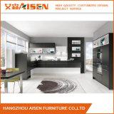 Simplicité de conception de meubles de cuisine des armoires de cuisine de la LAQUE