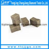 Segmentos modificados para requisitos particulares del dígito binario de base del diamante para el concreto