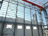 鉄骨構造の工場研修会の構築