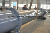 High Efficiency Sea Sand Single Pass / Single Drum Rotary Dryer