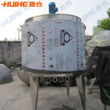Récipient de mélange industriel d'acier inoxydable à vendre (réservoir de mélange)