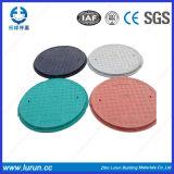 Couvercle en plastique de trou d'homme de fibre de Chine