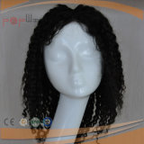 Curly Afro longitud hombro Handtied completo Tipo Puntilla Moda Mujer peluca (PPG-L-0848)