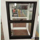 Aluminium oben u. unten anheben Fenster, doppeltes gehangenes Fenster, Aluminiumfenster, Aluminiumfenster, Fenster K01101