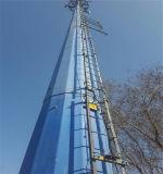 2017 Recentste Mooie Verschijning van Monopole Toren van het Staal van de Telecommunicatie van de Fabriek
