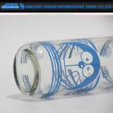 Regelmäßige Glasflasche für Verkaufsförderung (kundenspezifische Hülsen)