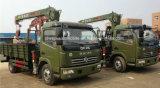 3 tonnes de camion télescopique de grue ont monté avec la grue de XCMG à vendre
