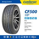 Comforser車は競争価格のCF500にタイヤをつける