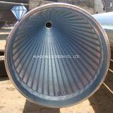 ジョンソンV/Wedgeワイヤーによって包まれる連続的なスロット井戸フィルター管スクリーン