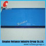 4 mm de verre flotté teinté bleu foncé avec ce/ISO
