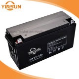 batería de plomo solar de 12V 150ah para el sistema del picovoltio del panel solar