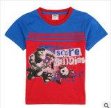 L'été 2014 le nouveau collier rond coton garçon court-T-Shirt