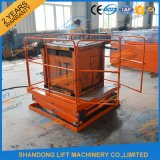 2t Warehouse Cargo table élévatrice à ciseaux hydraulique stationnaire