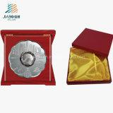 Piastre o piatto su ordinazione del ricordo del metallo del regalo dell'oggetto d'antiquariato dell'argento del rame promozionale dell'oro