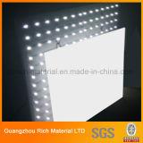 LEDのための正方形か円形のプラスチックPSの拡散器シートか照明拡散シート