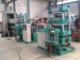 Tuile quatre en caoutchouc à colonnes corrigeant la presse de Vulacanizing de machine \ plaque