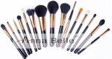 Neue Qualitäts-weiches schwarzes Haar 15PCS bilden des Entwurfs-2017 Pinsel-kosmetisches Pinsel-Set