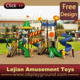 2016 Ce terrain de jeux de plein air de haute qualité en plastique pour Park (12076A)