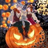 L'halloween Peinture décoration personnalisée, l'Halloween Cadeaux personnalisés