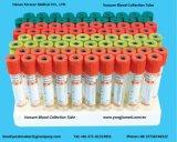O tubo de coleta de sangue de vácuo descartáveis com marcação ISO
