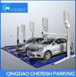 Подъем стоянкы автомобилей автомобиля столба 2 двойного гаража дома цилиндра гидровлический