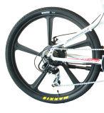 マグネシウムの統合された車輪が付いている山の電気バイク