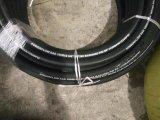 Boyau hydraulique de surface lisse de renfort de tresse de fil d'acier