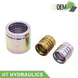 20 puntale idraulico del montaggio di tubo flessibile dell'acciaio 00200 00400