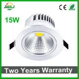 질 품목 15W AC85-265V 옥수수 속 LED Downlight