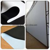 Tessuto Bianco-Nero della pellicola del PVC per lo schermo di proiezione