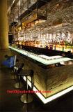 커피 아크릴 단단한 지상 대중음식점 바 나이트 클럽 가구 LED 바 카운터