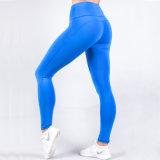Propri progettano i pantaloni di yoga di sublimazione delle signore di usura di sport del contrassegno privato