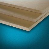 Placa plástica da espuma do PVC do material de construção
