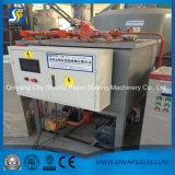 Cartão do cartão que faz a maquinaria Using o material Waste agricultural da palha do arroz