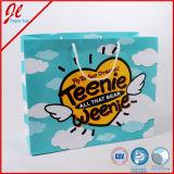 напечатанный таможней мешок покупкы подарка 4c упаковывая бумажный рекламируя бумажные мешки