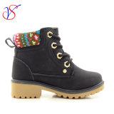 Приспособленная семьей работа деятельности безопасности впрыски детей малышей Boots ботинки для напольной работы (ЧЕРНОТА SVWK-1609-047)