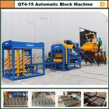Grupo de la maquinaria de la planta Qt4-15 Dongyue del bloque de la pavimentadora