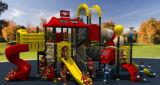Пожаробезопасность серии открытый детская площадка детей слайд-Парк Аттракционов оборудование