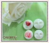 Silk-Screen Elegant Imitation Ceramics con Flower Pattern Button