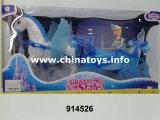 Новейшие пластмассовые лошадь со звуком кукла (914526)