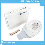 中国Steadliveの熱販売の白いColostomy袋、最大切口: 65mm