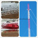 Type tour de télécommunication de Pôle de Guyed de transmission en acier