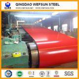 Color PPGI galvanizado recubierto de hoja de impermeabilización de cubiertas de acero corrugado