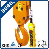 5ton Elektrische Kruk van de Kraan van het Hijstoestel van de Ketting van Hsy de Elektrische