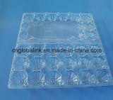 Wegwerfbares Huhn-Ei-Plastiktellersegment-transparentes Plastikei-Tellersegment der Blasen-Pet/PVC/PS/PP 10