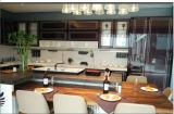 Projeto 2015 roxo da cozinha do lustro elevado modular de Welbom