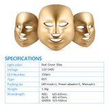 A1207 Beauty SPA Grado 7 luces de colores Cuidado de la piel PDT LED Facial Mask