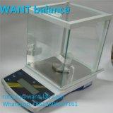 500g 1mg het Saldo van Miligram met de Schalen van de Hoge Precisie van het Windscherm van het Glas